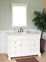 White Ivory Bathroom Vanities Bathgems Bathgems Com