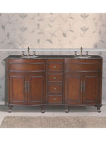 66 double sink vanity. 62  Hayes Double Sink Vanity 61 66 Inch Bathroom Vanities Bathgems Com