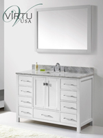 49-54 Inch Bathroom Vanities - Bathgems.com