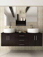Custom Bathroom Vanities Phoenix modern bathroom vanities and cabinets - bathgems