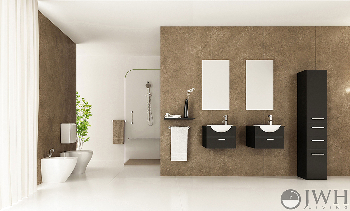 Floating vanities are the look of the future
