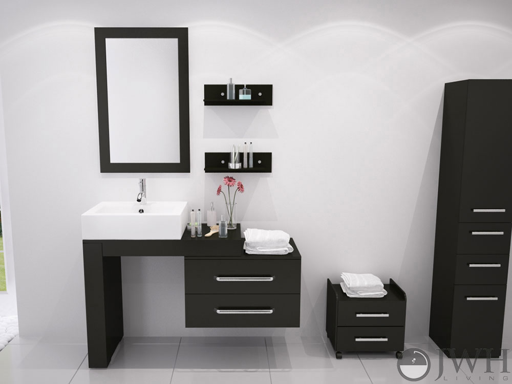 Wall Mounted Vanities Like The Scorpio Double Sink Are Perfect Additions To Your Bathroom