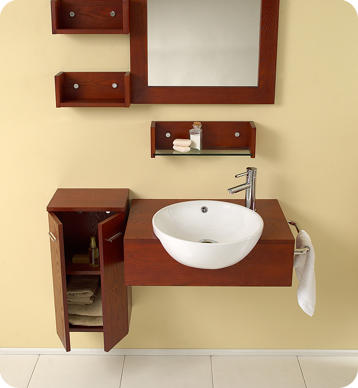 hung up on style: why wall-mounted vanities are more popular than