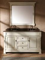 "60"" Peruga Double Bath Vanity - Antique White"