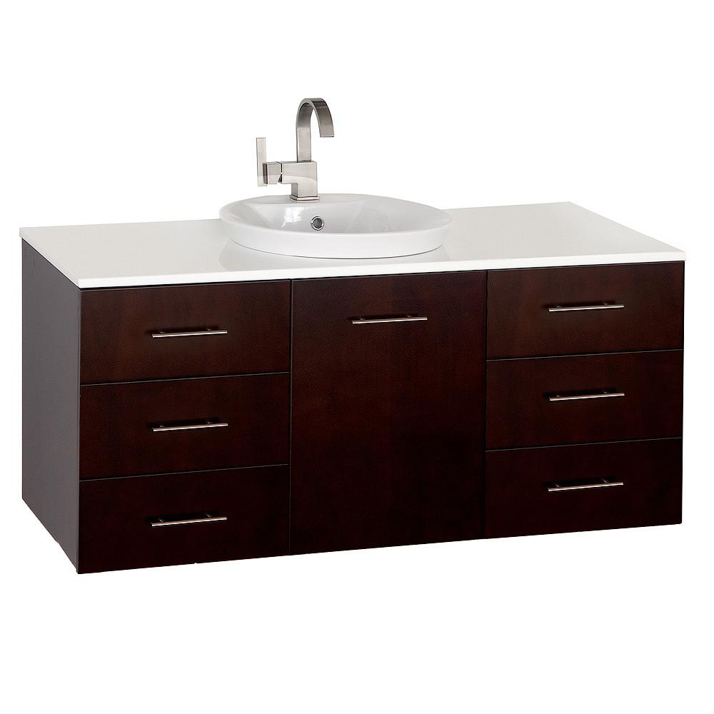 48 quot arrano single bath vanity bathgems com