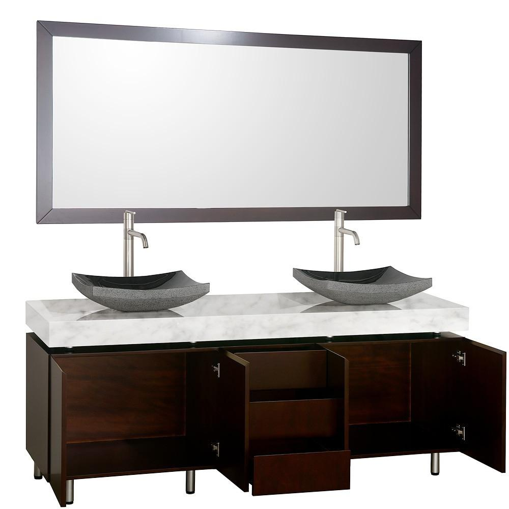 72 Malibu Double Sink Vanity
