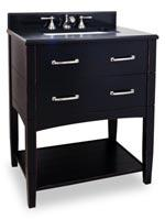 "30.5"" Myrtle Beach Single Vanity - Black"