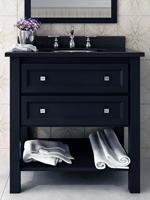 "30"" Aliso Creek Single  Bath Vanity - Black Granite Top"